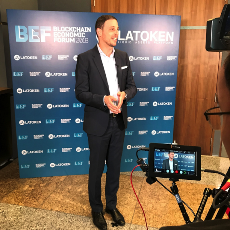 Joshua Rotbart at BEF LATOKEN Singapore 2018