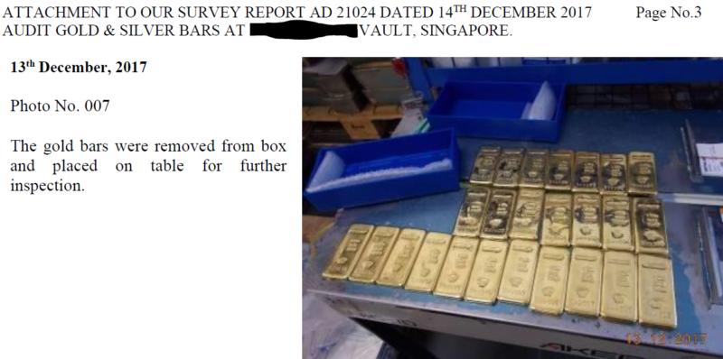 Gold Bullion In Singapore Storage